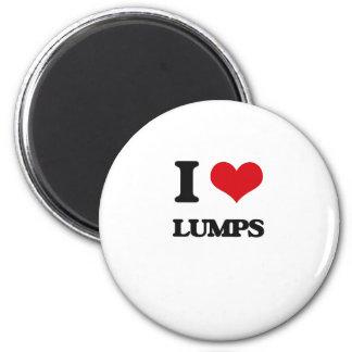 I Love Lumps Magnet