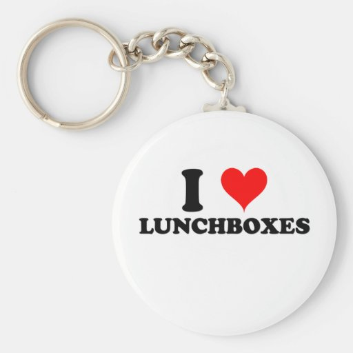 I Love Lunchboxes Keychain