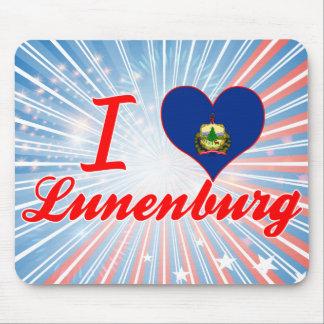 I Love Lunenburg, Vermont Mousepad