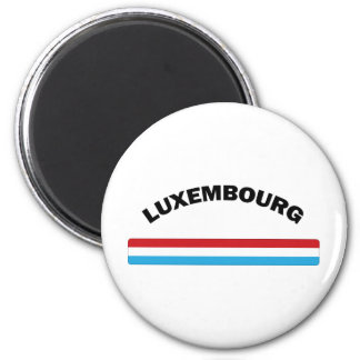 I Love Luxembourg 6 Cm Round Magnet