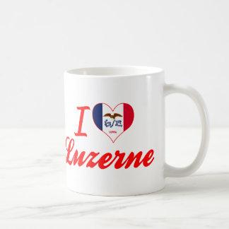 I Love Luzerne, Iowa Mugs