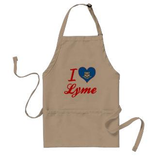 I Love Lyme, Connecticut Aprons