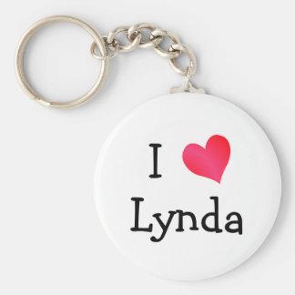 I Love Lynda Key Chain