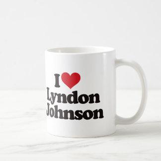 I Love Lyndon Johnson Basic White Mug