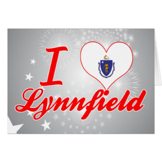 I Love Lynnfield, Massachusetts Card