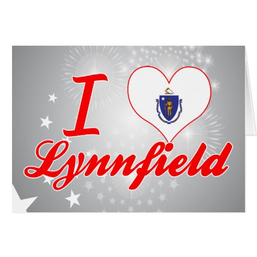I Love Lynnfield, Massachusetts Greeting Cards