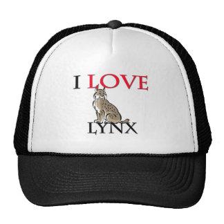 I Love Lynx Cap