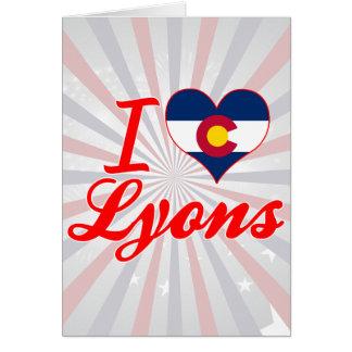 I Love Lyons, Colorado Card