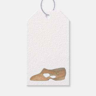 I Love Lyrical Tan Modern Dance Teacher Shoe
