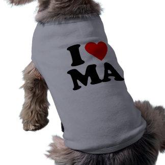 I LOVE MA PET CLOTHES