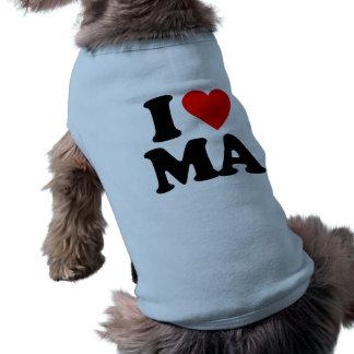 I LOVE MA DOG T-SHIRT