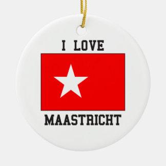I Love Maastricht Christmas Ornament