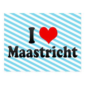I Love Maastricht, Netherlands Postcard