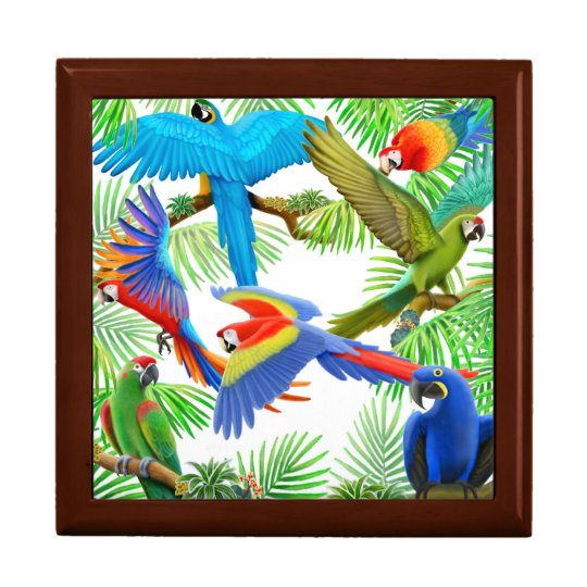 I Love Macaws Gift Box