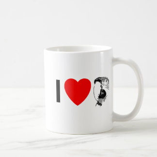 I LOVE MACAWS Mug