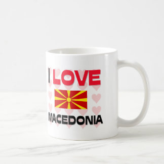 I Love Macedonia Coffee Mug