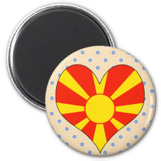 I Love Macedonia Magnet