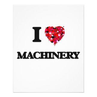 I Love Machinery 11.5 Cm X 14 Cm Flyer