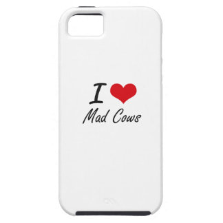 I love Mad Cows iPhone 5 Case