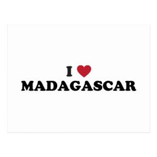 I Love Madagascar Postcard