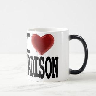 I Love MADISON 11 Oz Magic Heat Color-Changing Coffee Mug