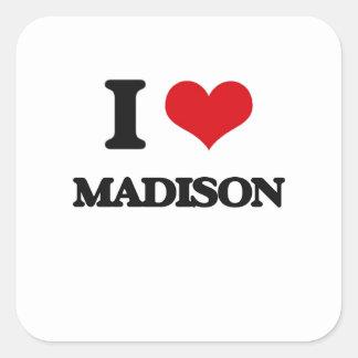 I love Madison Square Sticker