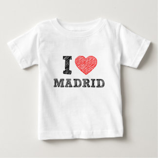 I Love Madrid Baby T-Shirt