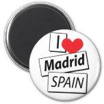 I Love Madrid Spain