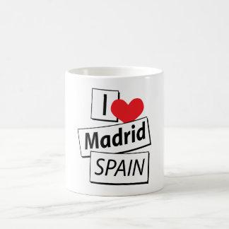 I Love Madrid Spain Coffee Mug