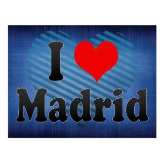 I Love Madrid, Spain. Me Encanta Madrid, Spain Postcard