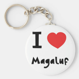 I love Magalluf Key Ring