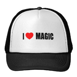 I Love Magic Mesh Hats