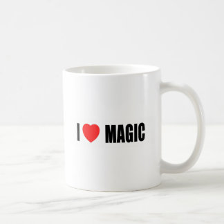 I Love Magic Coffee Mug