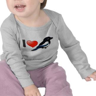 I Love Magpies Shirts