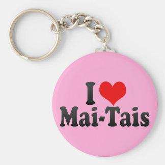 I Love Mai-Tais Key Ring