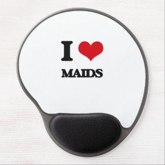 I Love Maids Gel Mouse Pad