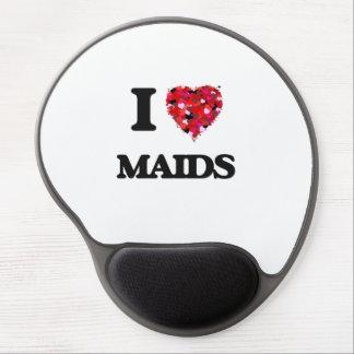 I Love Maids Gel Mouse Pad