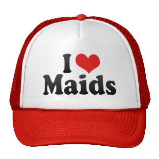 I Love Maids Hats