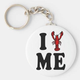 I Love Maine Lobster Key Ring