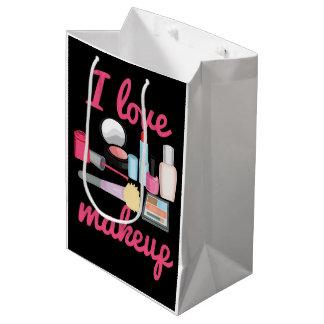 I love makeup medium gift bag