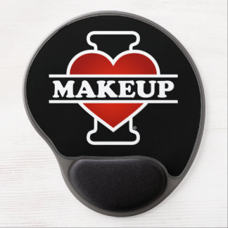 I Love Makeup Gel Mouse Pad