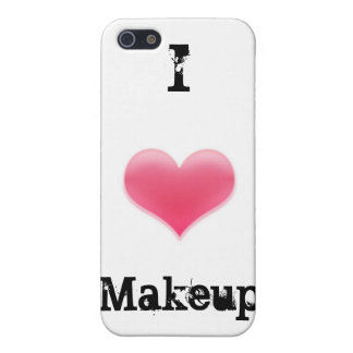 """""""I Love Makeup"""" iPhone Case iPhone 5 Cover"""