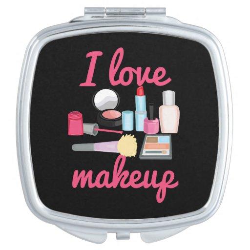 I love makeup mirror compact