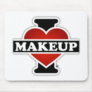 I Love Makeup Mouse Pad