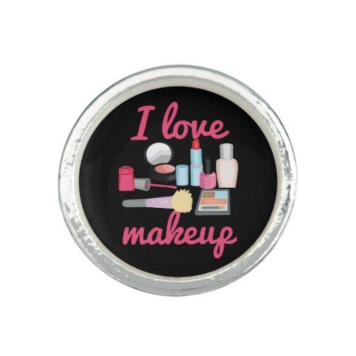 I love makeup rings