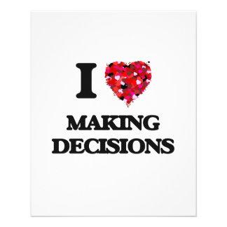 I Love Making Decisions 11.5 Cm X 14 Cm Flyer