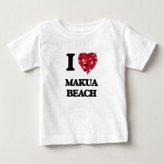 I love Makua Beach Hawaii Infant T-Shirt