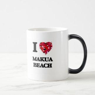 I love Makua Beach Hawaii Morphing Mug