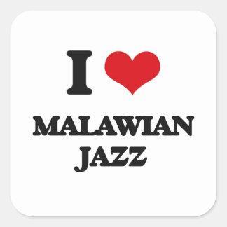 I Love MALAWIAN JAZZ Stickers