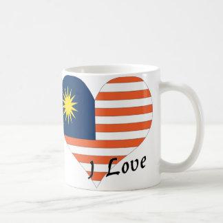 I love Malaysia Basic White Mug